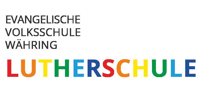 Hier sieht man das Logo der Lutherschule.